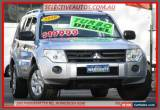 Classic 2010 Mitsubishi Pajero NT MY10 GLX LWB (4x4) Silver Automatic 5sp Wagon for Sale