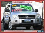 2010 Mitsubishi Pajero NT MY10 GLX LWB (4x4) Silver Automatic 5sp Wagon for Sale