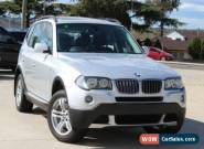 2008 BMW X3 E83 MY07 3.0SI Silver Semi-Automatic 6sp Steptronic Wagon for Sale