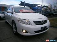 2007 Toyota Corolla ZRE152R Conquest White Automatic 4sp A Sedan for Sale