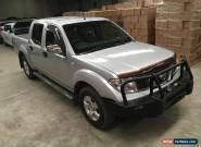 2007 NISSAN NAVARA D40 STX DUAL CAB turbo diesel 4x4 ideal export + farm use for Sale