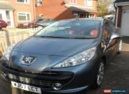 Peugeot 207 CC GT Turbo Convertible car for Sale