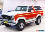 1986 Ford Bronco (4x4) Red Automatic 3sp A Wagon for Sale
