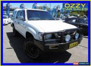 2005 Toyota Hilux KUN16R SR White Manual 5sp Manual Dual Cab Pick-up for Sale