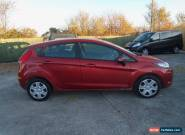 2009 FORD FIESTA STYLE 68 TDCI RED for Sale