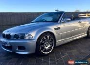 2004 BMW M3 CONVERTIBLE for Sale