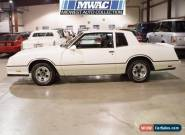 1986 Chevrolet Monte Carlo Base Coupe 2-Door for Sale