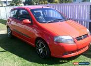2006 holden barina manual 3 door for Sale