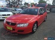 2006 Holden Commodore VZ Executive Burgundy Automatic 4sp A Wagon for Sale