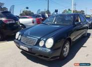 2000 Mercedes-Benz E240 W210 Classic Grey Semi-Automatic 5sp Sequential Auto for Sale