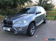 "2007 BMW X5 SE 5S 3.0D AUTO GREY METALLIC DVDs TV 20"" ALLOYS LOADED CAR  for Sale"