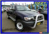 Classic 2004 Toyota Hilux LN167R (4x4) Blue Manual 5sp Manual 4x4 Dual Cab Pick-up for Sale