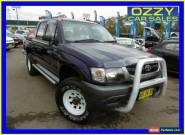2004 Toyota Hilux LN167R (4x4) Blue Manual 5sp Manual 4x4 Dual Cab Pick-up for Sale