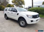 2012 Ford Ranger PX XL 2.2 (4x4) White Automatic 6sp A for Sale