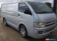 2006 Toyota Hiace LWB Van 2.7L Petrol M LIGHT DAMAGE REPAIRABLE DRIVES  for Sale