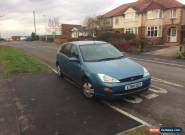 Ford Focus 1.4 Petrol Maunual Blue 2000(X) for Sale