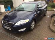 2009 FORD MONDEO ECONETIC TDCI 125 BLUE for Sale