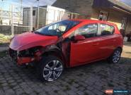 2015 VAUXHALL CORSA EXCITE 1.0 TURBO ECOFLEX S RED DAMAGED SALVAGE SPARES REPAIR for Sale