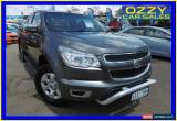 Classic 2013 Holden Colorado RG LTZ (4x4) Grey Automatic 6sp Automatic Spacecab for Sale