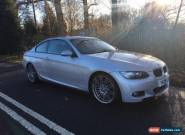 BMW 320D M SPORT 2 DOOR COUPE SILVER for Sale