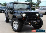 2007 Jeep Wrangler Unlimited JK Rubicon (4x4) Black Manual 6sp M Softtop for Sale
