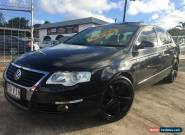 2007 Volkswagen Passat 3C 3.2 V6 FSI Black Automatic 6sp A Sedan for Sale