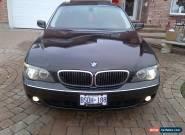 2006 BMW 7-Series 750LI for Sale