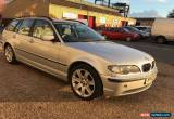 Classic 2003 BMW 318I SE TOURING SILVER for Sale