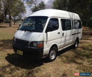 Classic 1999 Toyota Hiace LH125R Commuter White Manual 5sp M Bus for Sale