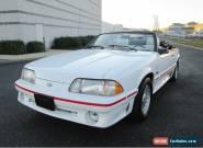 1988 Ford Mustang GT Convertible 2-Door for Sale