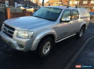 2007 FORD RANGER THUNDER D/C 4WD SILVER SPARES/REPAIRS 1 OWNER for Sale