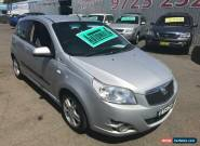2010 Holden Barina TK MY10 Silver Automatic 4sp A Hatchback for Sale