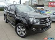 2011 Volkswagen Amarok 2H TDI400 Ultimate Black Manual 6sp M 4D Utility for Sale