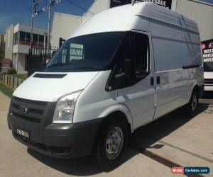 Classic 2010 Ford Transit VM MY08 High (LWB) White Manual 6sp Manual Van for Sale