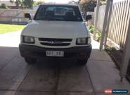 Holden Rodeo space cab 2000 model tray for Sale