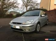 Ford Focus Diesel Hatchback Ghia TDCi 1.8 2002 for Sale