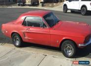 1968 Ford Mustang Base Hardtop 2-Door for Sale