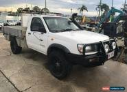 1998 Nissan Navara D22 DX (4x4) White Manual 5sp M Cab Chassis for Sale