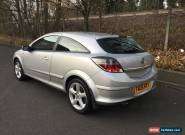 2006 VAUXHALL ASTRA SRI 1.8 SILVER for Sale