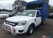 2011 Ford Ranger PK XL (4x2) White Manual 5sp M Cab Chassis for Sale