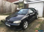 VAUXHALL ASTRA BERTONE 2005 - SPARES OR REPAIRD - NON RUNNER for Sale