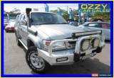 Classic 2002 Toyota Hilux VZN167R SR5 (4x4) Silver Manual 5sp M Dual Cab Pick-up for Sale