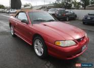 1996 Ford Mustang GT Convertible 2-Door for Sale