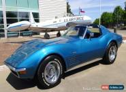 1972 Chevrolet Corvette T-Top Coupe  for Sale