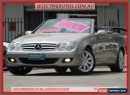 2007 Mercedes-Benz CLK280 C209 07 Upgrade Avantgarde Silver Automatic 7sp for Sale