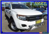 Classic 2013 Ford Ranger PX XL 2.2 HI-Rider (4x2) White Automatic 6sp A Crewcab for Sale