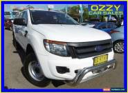 2013 Ford Ranger PX XL 2.2 HI-Rider (4x2) White Automatic 6sp A Crewcab for Sale
