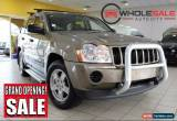 Classic 2007 Jeep Cherokee MY2006 LAREDO NAVIGATOR WH Gold Automatic A Wagon for Sale