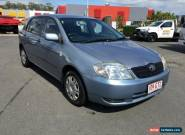2002 Toyota Corolla Automatic Ascent Blue Automatic 4sp A Hatchback for Sale