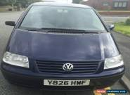 2001 VOLKSWAGEN SHARAN S 1.9 TDI BLUE 6 SPEED for Sale